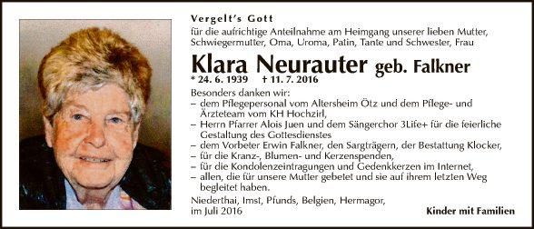 Klara Neurauter