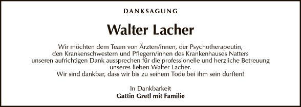 Walter Lacher