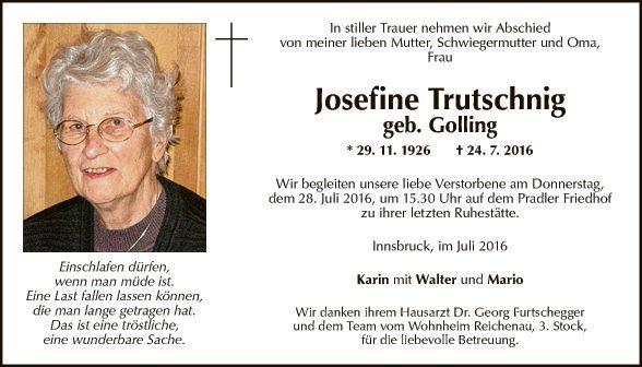Josefine Trutschnig