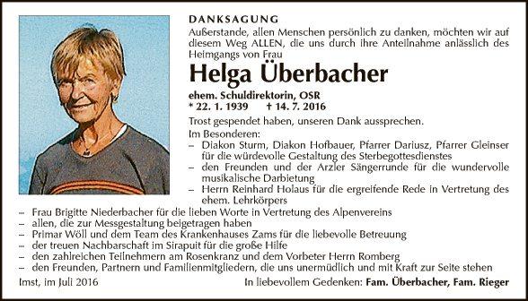 Helga Überbacher