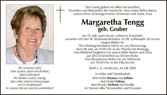 Margaretha Tengg
