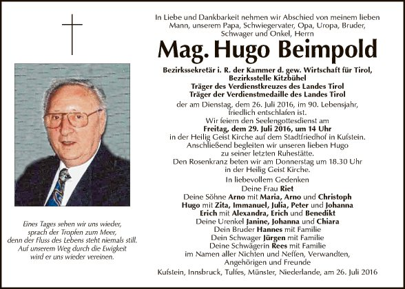 Hugo Beimpold