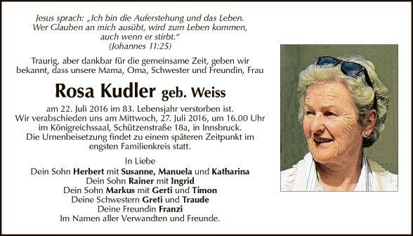 Rosa Kudler