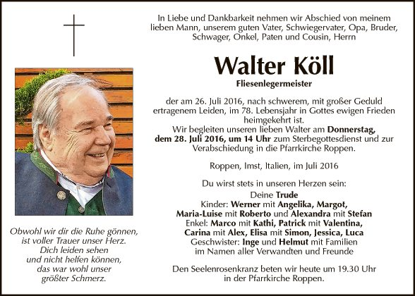 Walter Köll