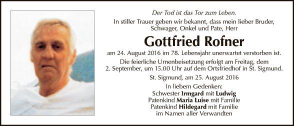 Gottfried Rofner