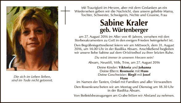 Sabine Kraler