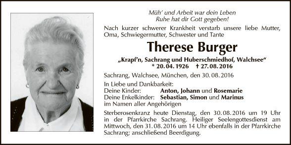 Therese Burger