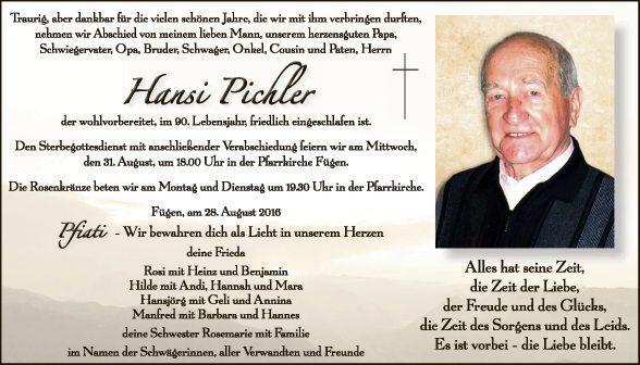 Hansi Pichler