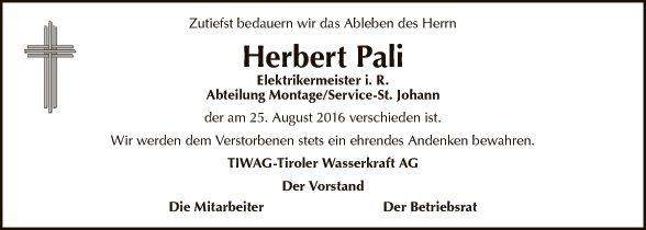 Herbert Pali