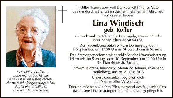 Lina Windisch