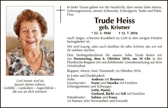 Trude Heiss
