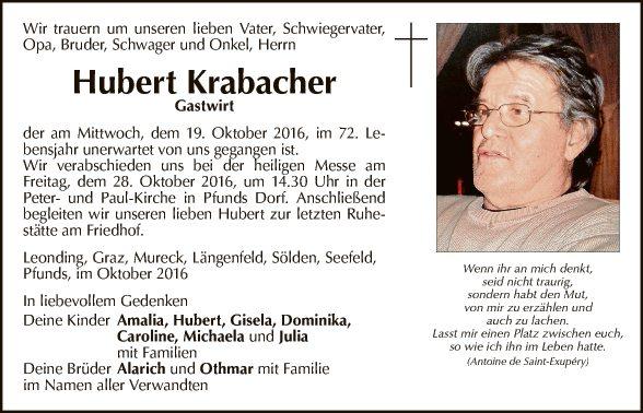 Hubert Krabacher