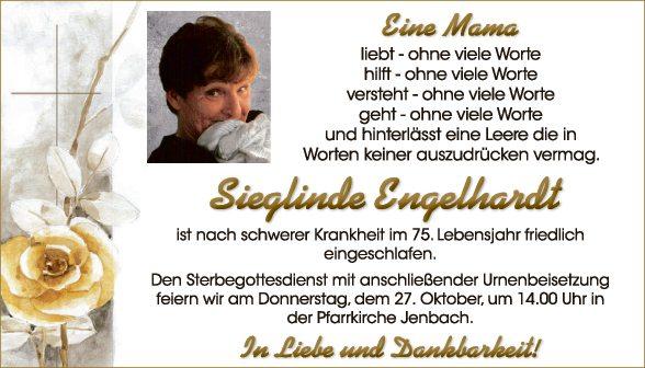 Sieglinde Engelhardt