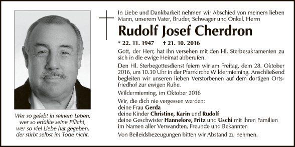 Rudolf Cherdron