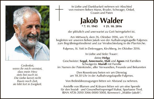 Jakob Walder