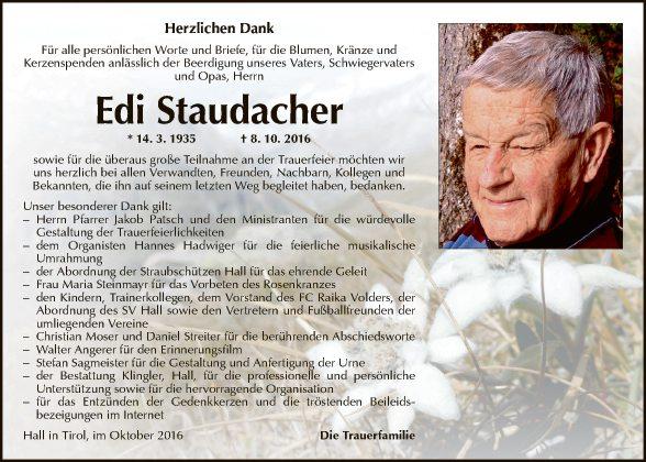 Edmund Staudacher