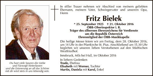 Fritz Bielek
