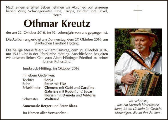 Othmar Kreutz