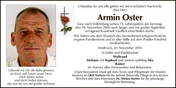 Armin Oster