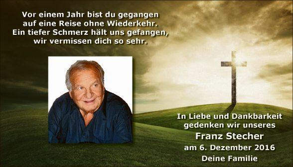 Franz Stecher