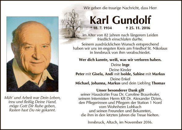 Karl Gundolf