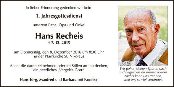 Hans Recheis