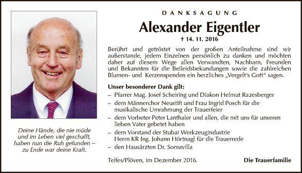 Alexander Eigentler