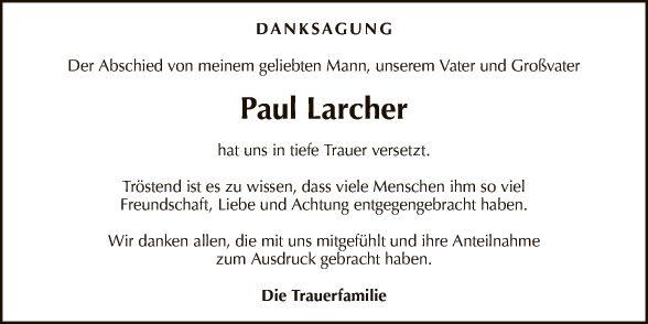 Paul Larcher