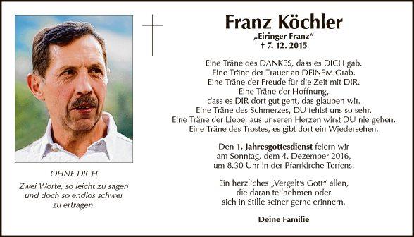 Franz Köchler