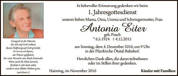 Antonia Eiter