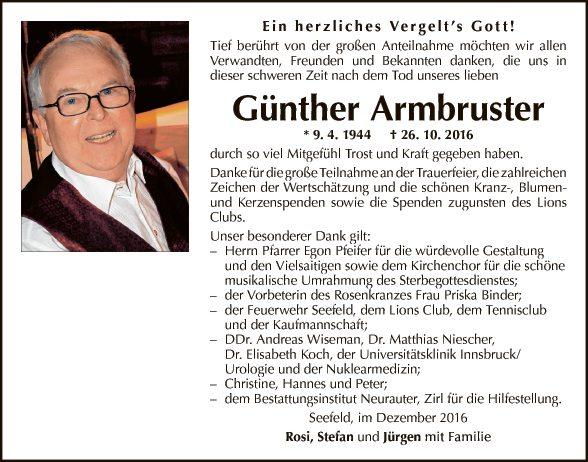 Günther Armbruster