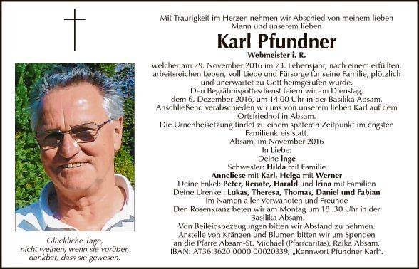 Karl Pfundner