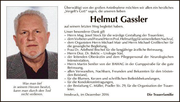 Helmut Gassler