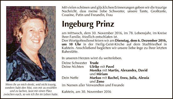 Ingeburg Prinz
