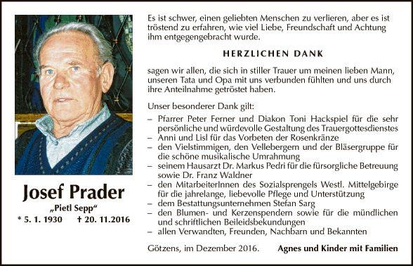 Josef Prader