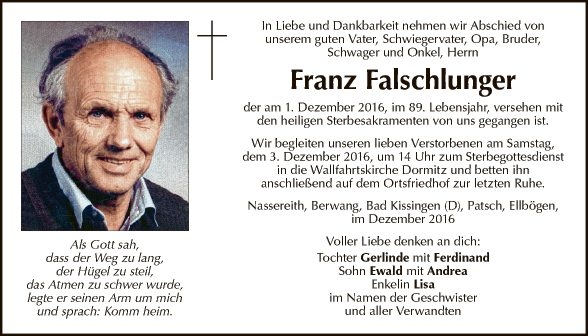 Franz Falgschluger