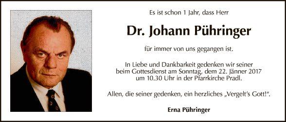 Johann Pühringer