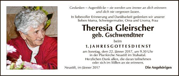 Theresia Gleirscher