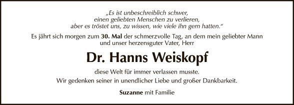 Dr. Hanns Weiskopf
