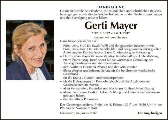Gerti Mayer