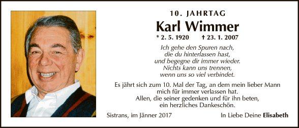 Karl Wimmer