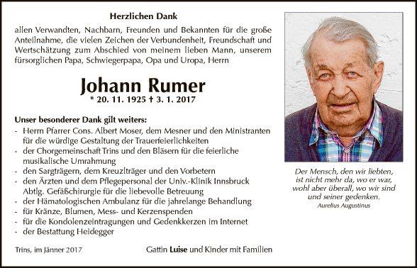 Johann Rumer