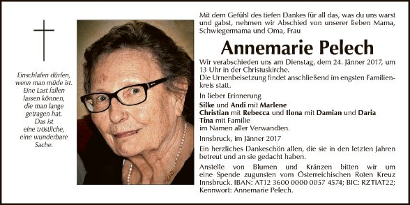 Annemarie Pelech