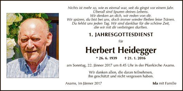 Herbert Heidegger