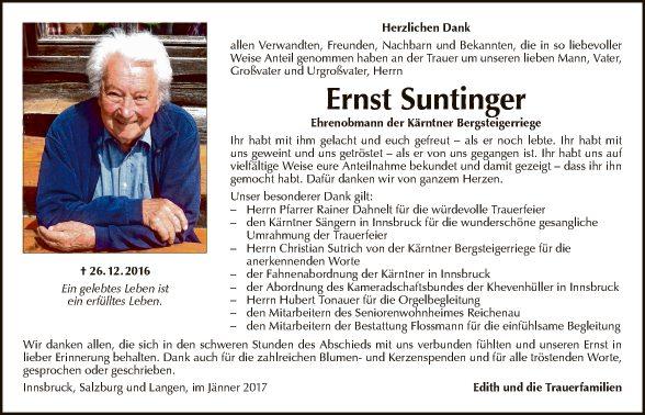 Ernst Suntinger