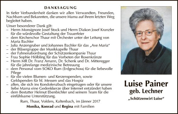 Luise Painer