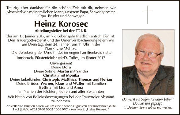 Heinz Korosec