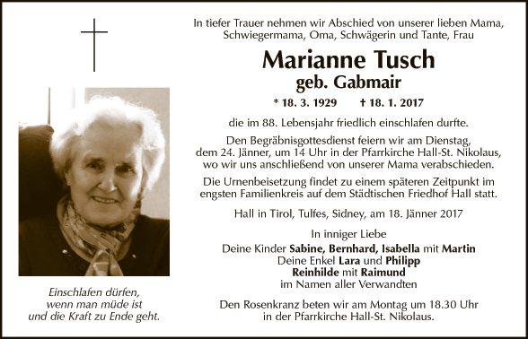 Marianne Tusch