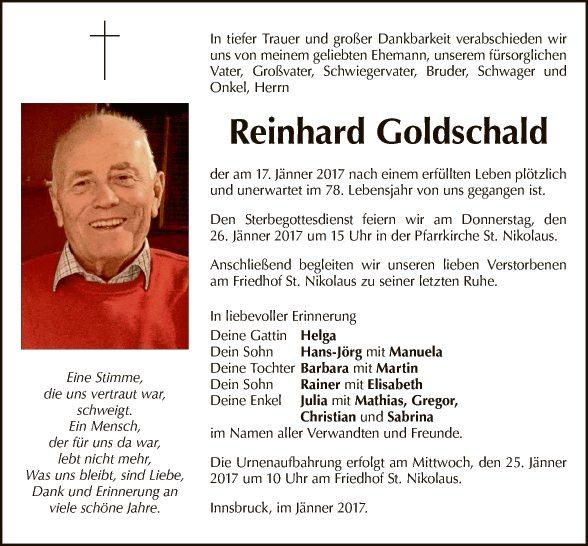 Reinhard Goldschald