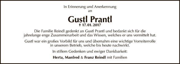 Gustl Prantl